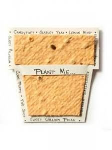 invite - handmade paper
